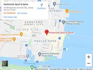 Get Directions to Harborside Sport & Spine in Jersey City, NJ